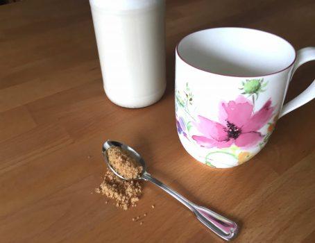 Schnelle Mandelmilch unverpackt